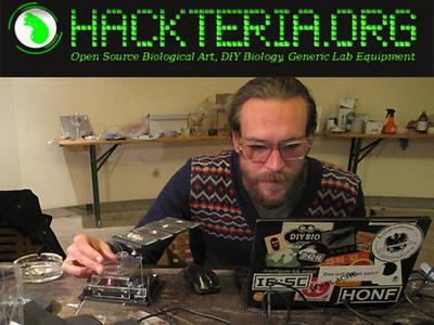 Hackteria DIY biolab