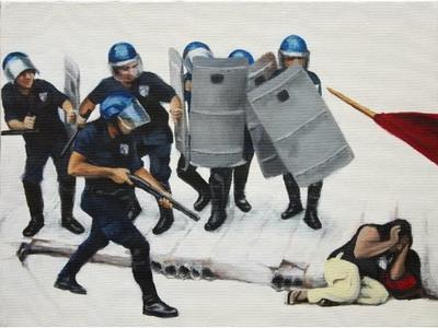 Slike Milice Ružičić o nasilju