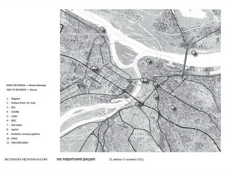 Re-mapiranje beogradske kulture - Na sopstveni pogon
