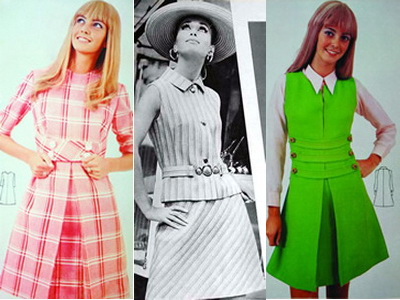 Moda u ogledalu 60-ih