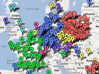 Evropa u anti-ACTA protestu