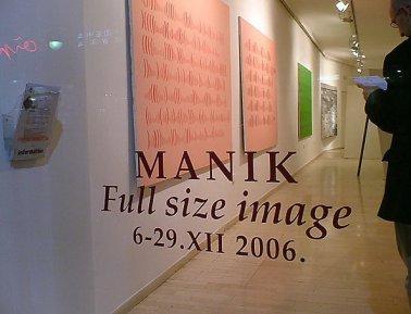 MANIK, Full Size Image