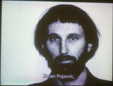 Zoran Popovic in 'Kino beleske', film by Lutz Becker