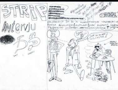 Zoran Popović, Stripovi/Cartoons, Karikature/Caricatures