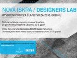 Poziv Nove Iskre za članstvo u Designers Lab-u