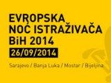 Konkurs za učešće u Noći istraživača BiH 2014.