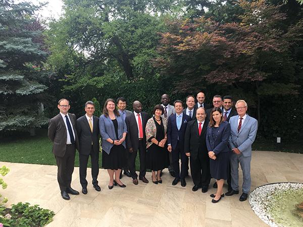 Osnovana Grupa frankofonih ambasadora u Srbiji