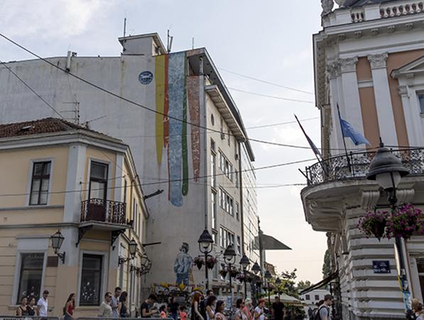 Vraćanje starog sjaja muralu u Rajićevoj