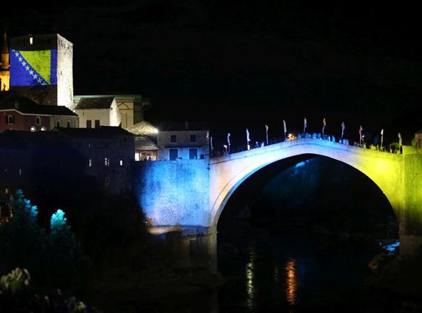 Mirovne poruke u slavu Starog mosta