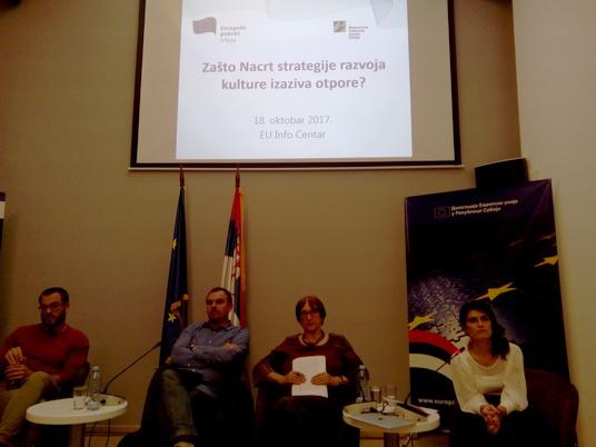 Za odbacivanje Predloga strategije razvoja kulture