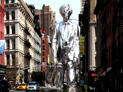 Spomenik Vorholu u Njujorku